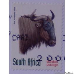 Afrique du Sud 00999 Gnou bleu valeur st...