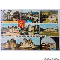 CP de La Mayenne, Les châteaux