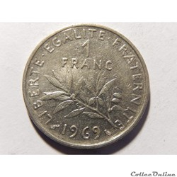 1 franc semeuse 1969