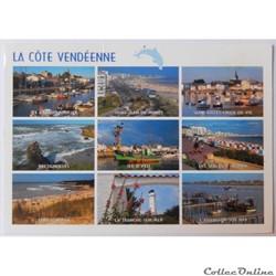 CP de Vendée, La côte Vendéenne