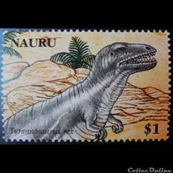 Nauru 00591 Tyrannosaurus rex 1$ de 2006
