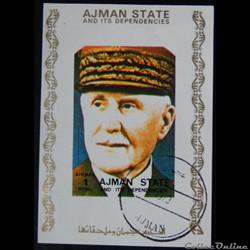 Ajman State 02906AwBL Maréchal Pétain 1R...