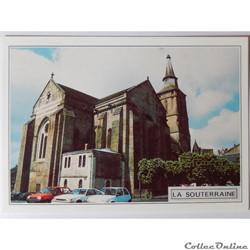CP de la Creuse, La Souterraine, l'Eglise