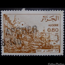 Algérie 00759 vue de la mosquée Djamaeel...