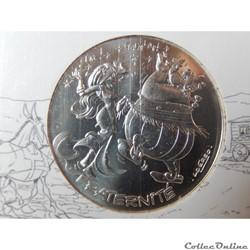 10 euros, Astérix et fraternité Espagnol...