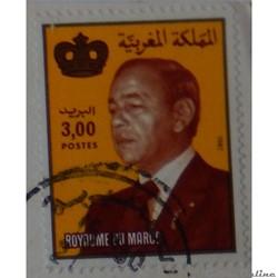 Maroc 00939 roi Hassan II 3.00d de 1983