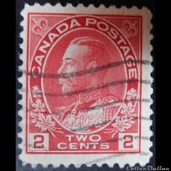 Canada 00094 roi George V 2c de 1911