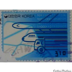 Corée du Sud 02221 transports 310W de 20...