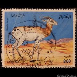 Algérie 01018 Gazelle Dama 8.60d de 1992