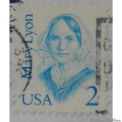 Etats Unis 01700 Mary Lyon 2c de 1987