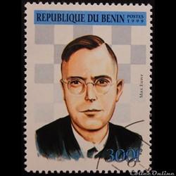Bénin 00890 Max Euwe 300f de 1999