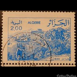 Algérie 00803 vue de Bejaia en 1830 2.00...
