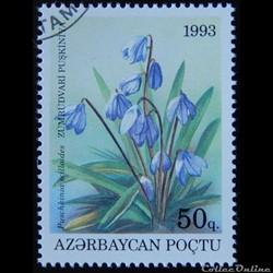 Azerbaïdjan 1993 Fleur 50q