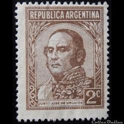 Argentine 00365 général Justo José de Ur...
