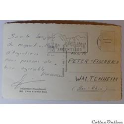 carte postale france rhone alpe cpa de haute savoie argentiere