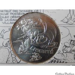 10 euros, Astérix et liberté Rire 2015