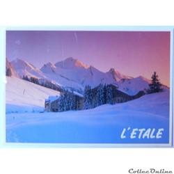CP de Haute-Savoie, Manigod l'Etale