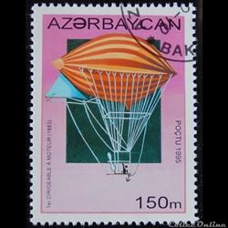 Azerbaïdjan 00225 1er dirigeable à moteu...