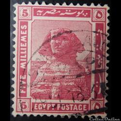 Egypte 00048 Sphinx 5m de 1914
