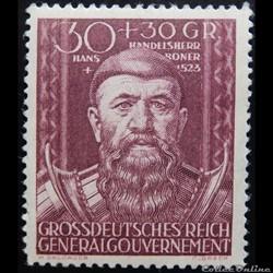 Allemagne Gouvernement Général 0133 Hans...