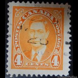 Canada 00193 roi George VI 4c de 1937