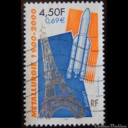 03366 La Métallurgie 1900-2000 4F50 - 0.69€ de 2000