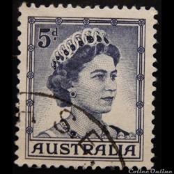 Australie 00253A Reine Elisabeth II 5d de 1959