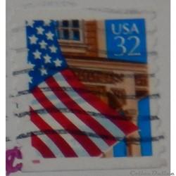 Etats Unis 02338 drapeau 32c de 1995