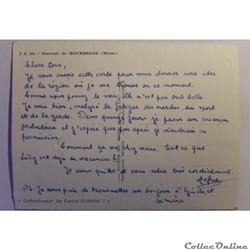 carte postale france champagne ardenne cpa de la marne mourmelon
