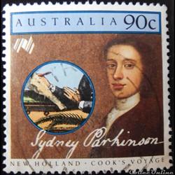 Australie 00941 Sydney Parkinson 90c de 1986