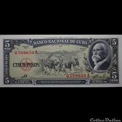 05 pesos 1960