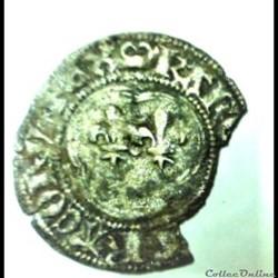 CHARLES VII   1422- 1461   Denier tourno...
