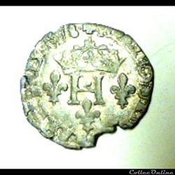 HENRI  III    sol parisis  1578 P