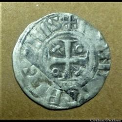 Denier époque d'HUGUES II comte de Chalon ( 1102-1143)