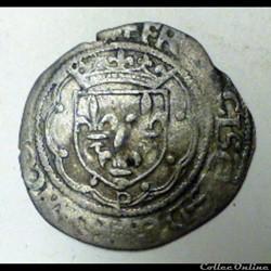 François Ier 1515-1547   Douzain à la cr...
