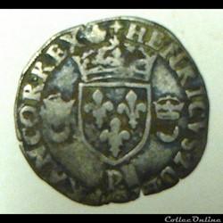 HENRI  II   douzain aux croissants  1556