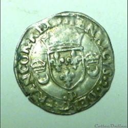 HENRI  II   douzain aux croissants  1551