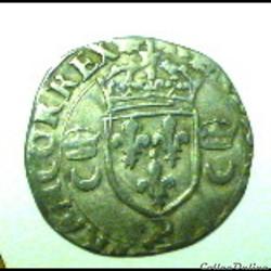 HENRI  II   douzain aux croissants  1555