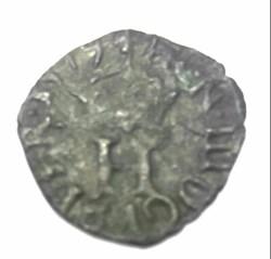 HENRI III Liard à l'H couronnée 1578 P