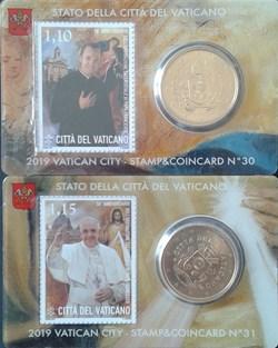 stamp-c.card N° 30 & 31