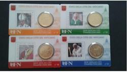 stamp-c.card N° 18 à 21