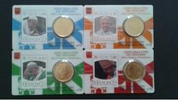 stamp-c.card N° 10 à 13