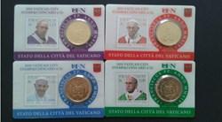 stamp-c.card N° 22 à 25