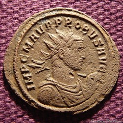Probus Rome RIC 243 var. (inédit)