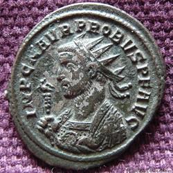 Probus Rome RIC 160 var. H (inédit)