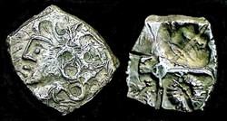 ajout de métal - RUTENES  drachme type d...