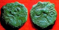 CALETES - bronze au monstre enroulé