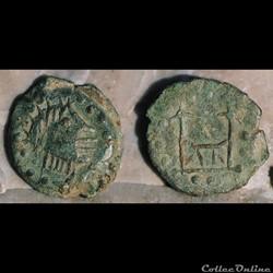 bronze imitation de l'autel de LYON 7