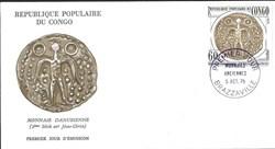 enveloppe - monnaie gauloise