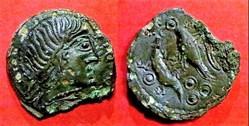 bronze à l'aigle et au lezard (1)